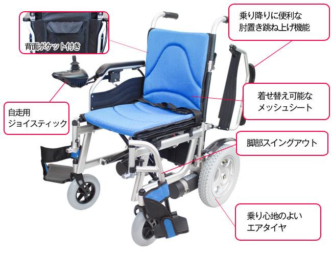 電動車椅子 通販 卸ならではの最安値 ケアテックジャパン ハピネスムーブの機能